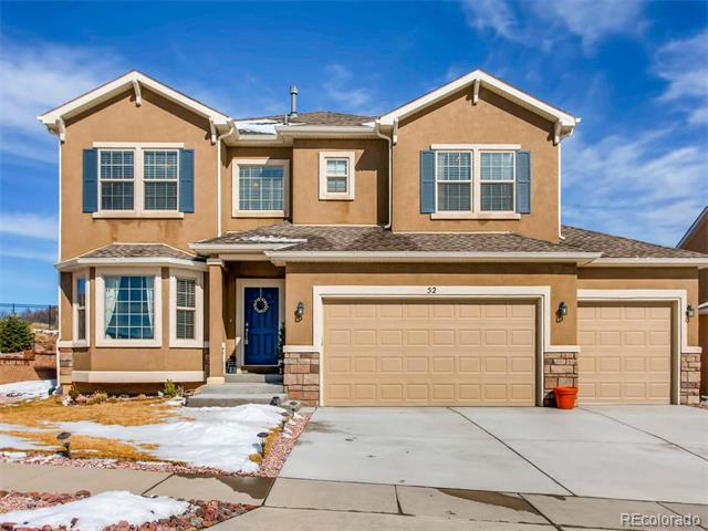 52 Coyote Willow Drive, Colorado Springs, CO 80921