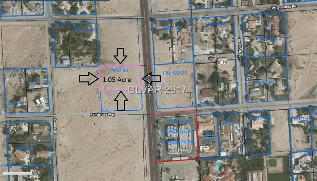 Jones & Ponderosa Way, Las Vegas, NV 89118