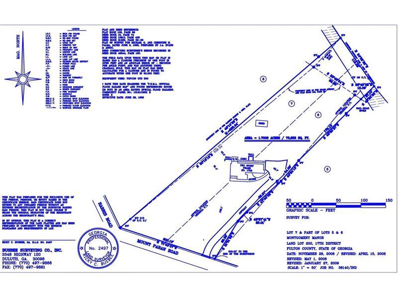 1705 NW Mount Paran Road, Atlanta, GA 30327