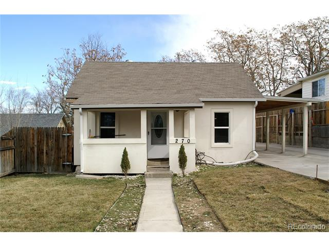 270 S Perry Street, Denver, CO 80219