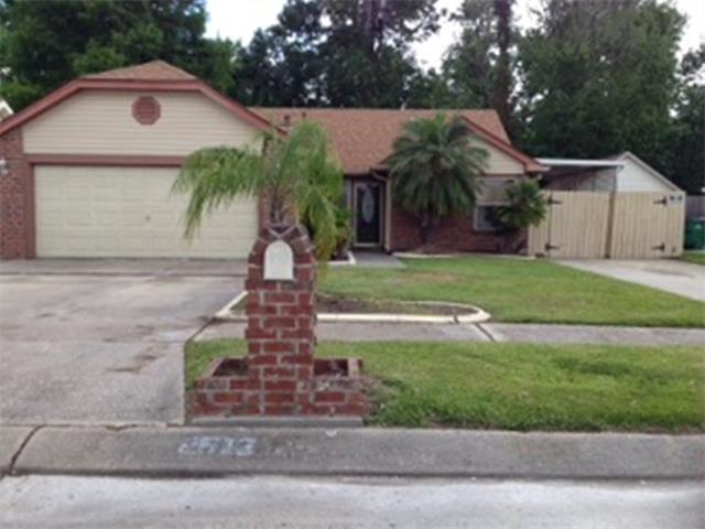 2613 LONG BRANCH Drive, Marrero, LA 70072