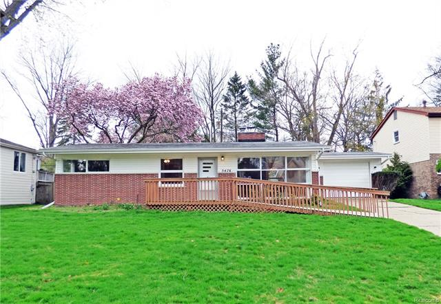 5476 SUNNYCREST DR, West Bloomfield Twp, MI 48323