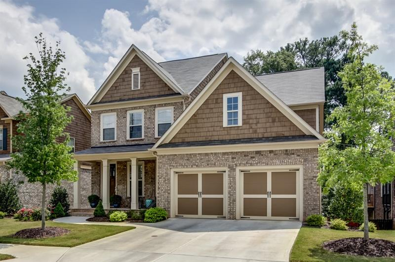 Gorgeous newer construction mins from Smyrna Market Village! Kitchen feat s/s apps,granite counters,island w/ b'fast bar,walk-in pantry,& b'fast area. Sep din rm. Keeping rm has stacked stone FP & built-ins. Spacious fam rm with cozy FP & built-in bookcase. Bdrm/full bath on main. Master has trey ceiling,dual walk-in closets,& priv deck. Master bath feat dual vanities,soaking tub,& oversized shower. Add'l bdrms w/ attached baths well-sized & bright. Laundry up. Unfin basement waiting for your ideas. Deck overlooking fenced backyard perfect for entertaining.2 car garage!