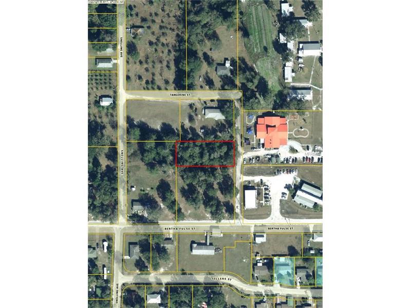 TANGERINE STREET, BOWLING GREEN, FL 33834