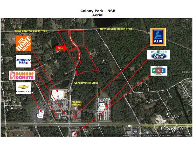COLONY PARK ROAD, NEW SMYRNA BEACH, FL 32168