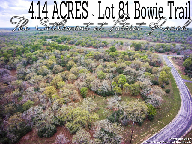 LOT 81 Bowie Trail, Luling, TX 78648