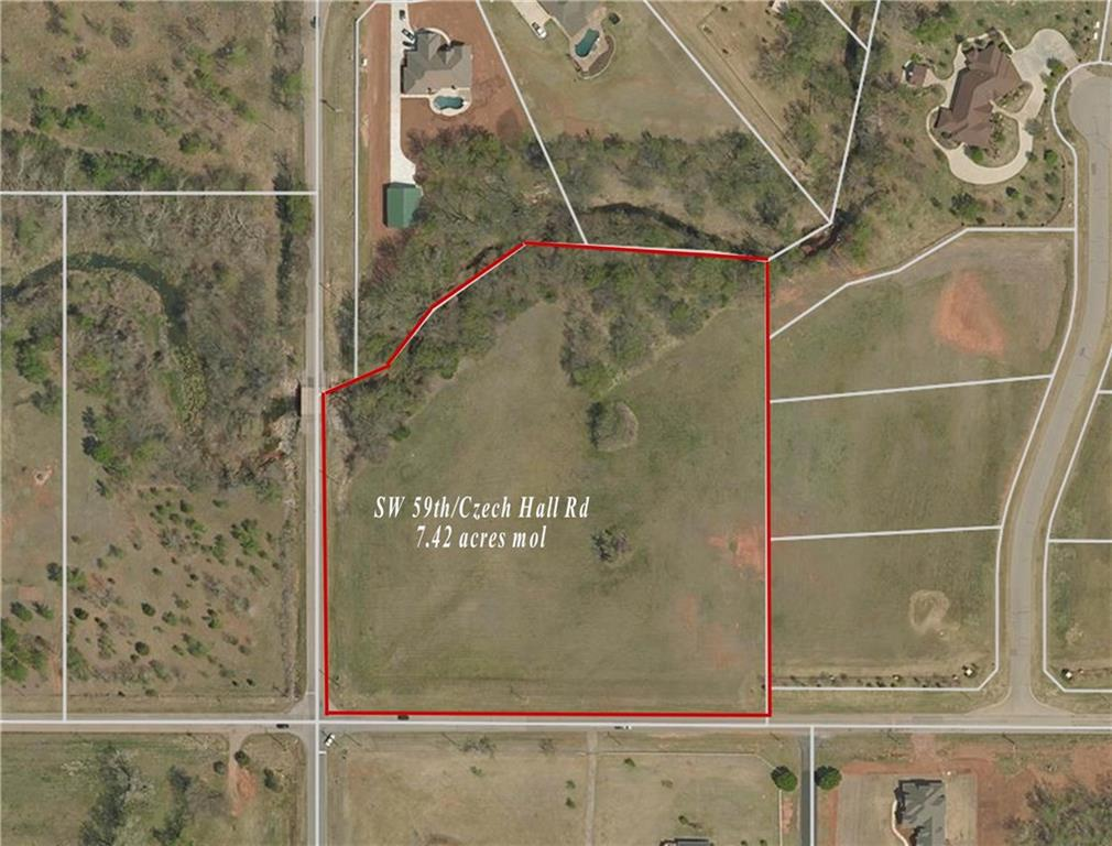 7.42 acres SW 59th & Czech Hall Rd, Mustang, OK 73064