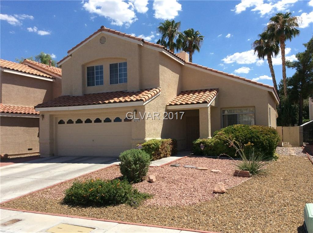 Beautiful home in the heart of Green Valley! Come cool off in your very own pool and spa with no neighbors behind you. New desert landscaping in the front yard. This home features a living room, separate family room, marble entryway, and fireplace with new tile flooring downstairs. Spacious master bedroom with sitting area upstairs. Close to schools, shopping, parks, and easy access to 215 freeway.  Community center is within walking distance.
