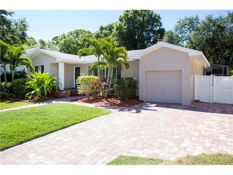 Fantastic opportunity in the heart of one of the most coveted neighborhoods in South Tampa, Beach Park. Location and direct neighborhood are exceptional. Walking distance to Westshore plaza, Swann Park, Starbucks, and Panera Bread. It is minutes away from I-275, Gandy bridge, International Mall, Tampa airport, and the Veterans expressway. Sellers have taken meticulous care of this home and it shows. Home features a bright and open floor plan, neutral colors throughout, and contemporary finishes. Recently painted inside and out. Pool has new refinished high end pebble tec and nano-seal covered lanai deck. Driveway and walkway brick pavers expanded and added in 2015. Heated pool is a rarity and great to enjoy year round. Spacious kitchen with granite bar, newer appliances, Master bedroom with vaulted ceilings, large secondary bedrooms, hardwood floors throughout, separate living room with fireplace, Florida shutter windows throughout, designer light fixtures, and all new landscape. Call today to arrange a private showing.