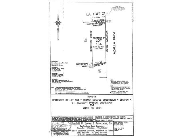 HWY 21 Highway, Covington, LA 70433