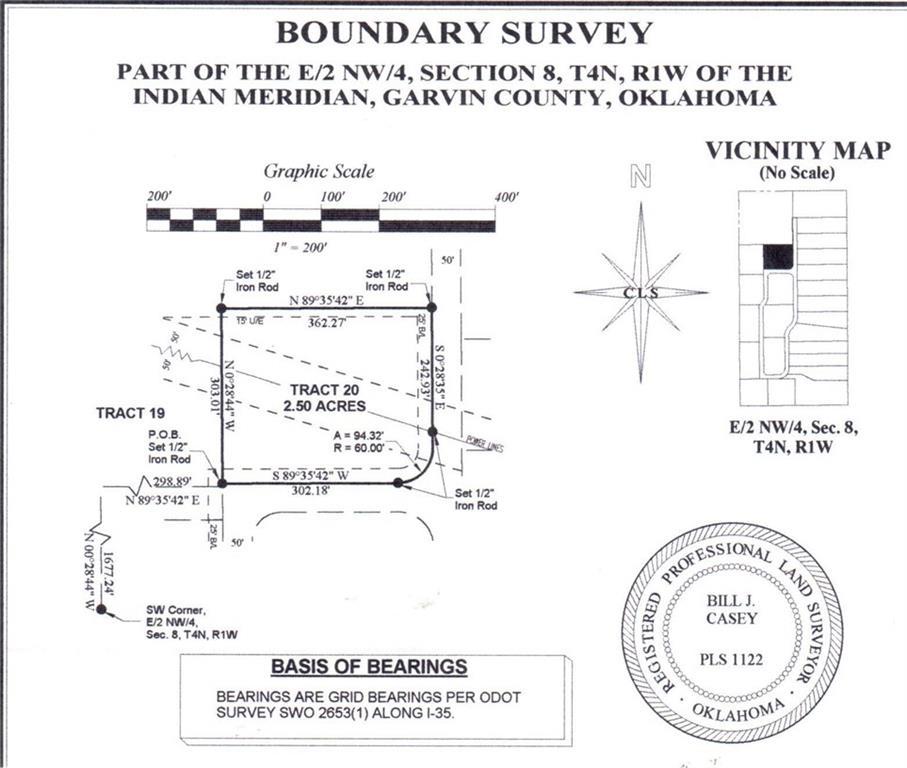 N County Road 3183 (Tract 20), Paoli, OK 73074