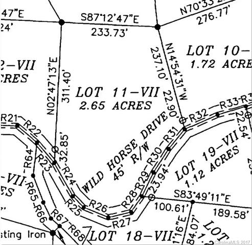 Lot 11 VII Wild Horse Drive, Nebo, NC 28761