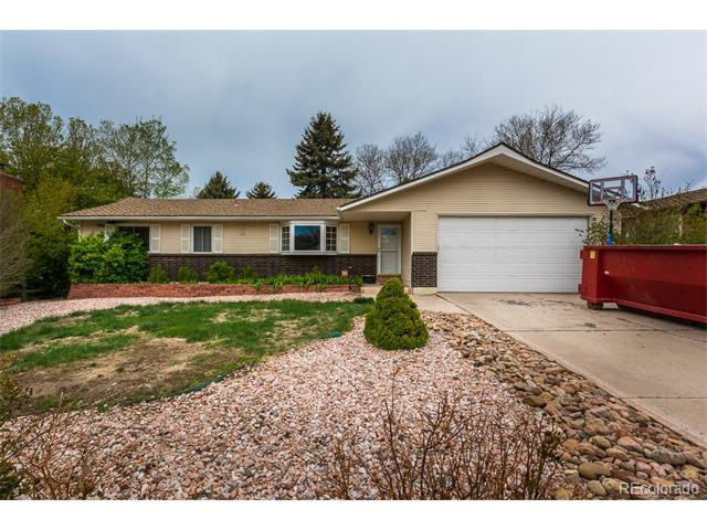 2922 W Whileaway Circle, Colorado Springs, CO 80917