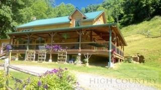 832 Rich Hill Rd., Creston, NC 28615