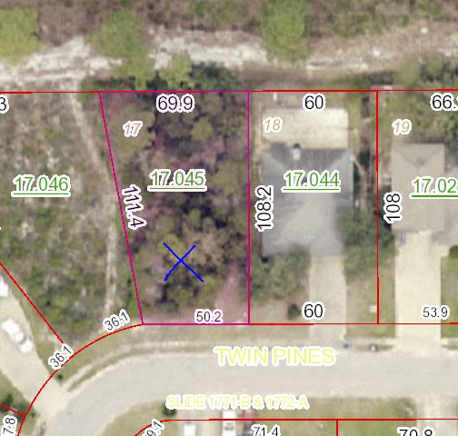 Great Large Pie Shaped Lot located in the northern end of the Twin Pines Subdivision in Beautiful Gulf Shores AL.  The Lot in a great location with ho neighbors on the northern boundary.  The lot has mature woods on it now so the new owner can pick and choose what trees they can keep in the clearing process.  The neighborhood has a variety of home styles but mostly starter brick homes make up the mix of homes. Contact your agent today this is a smart buy in  good neighborhood.