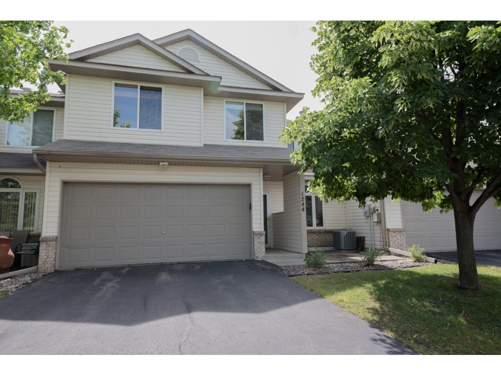 Nicely updated move-in ready townhome! Fresh interior paint & new flooring! 9-foot ceilings on main lvl & open concept living spaces. Living room w/gas fplc open to informal dining. Kitchen w/new SS appliances, stone backsplash, 42-inch cabinets & great storage! Guest 1/2 bath. Upper lvl w/3 BRs including Master w/walk-thru full bath & walk-in closet. 2 junior BRs + laundry on UL. 12x10 patio & attached 2-car garage. Close to Hwy 212, Lions Park, MN River, restaurants + many golf course options!
