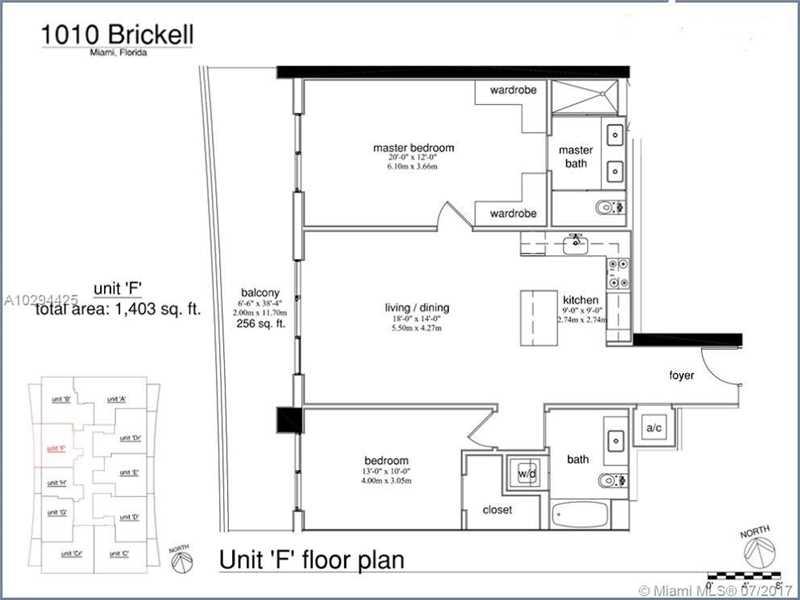 1010 BRICKELL 3909, Miami, FL 33131